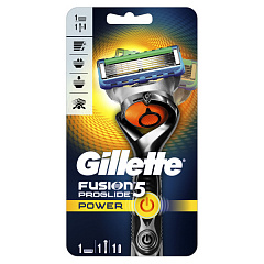 Станок Gillette Fusion Proglide Power Flexball + 1 кассета Chrome Edition N1